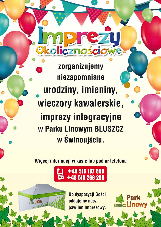 Imprezy okolicznościowe Świnoujście urodziny, imprezy integracyjne, wieczory kawalerskie